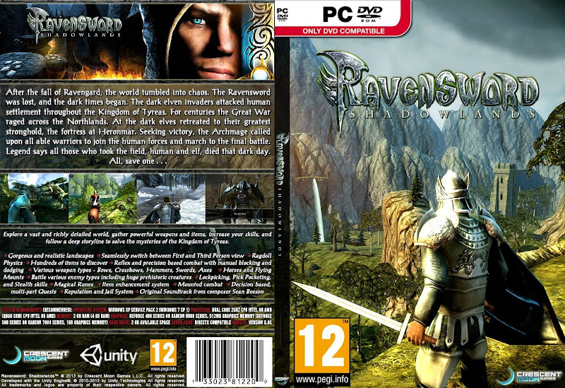 Capa Ravensword Shadowlands PC