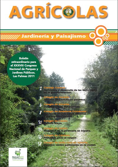 Revista jardiner a y paisajismo de agr colas en formato Jardineria online