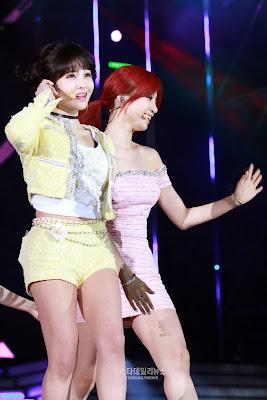 Boram Eunjung Dream Concert 2015