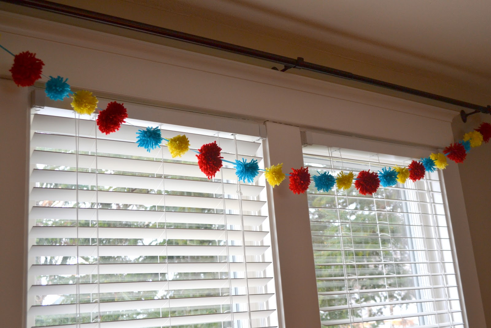 Curious George Party Garland
