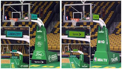 NBA 2K14 Boston Celtics Court Mod