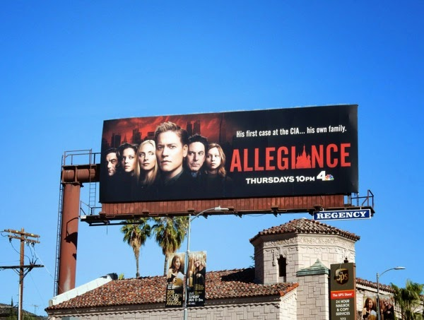 Allegiance season 1 NBC billboard