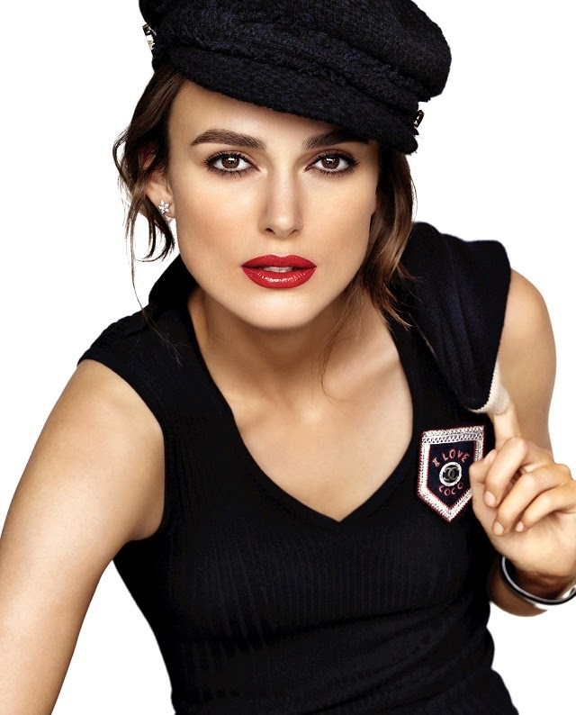rouge coco chanel lipstick rossetto, rouge coco chanel gabrielle 444, keira knightley chanel rouge coco