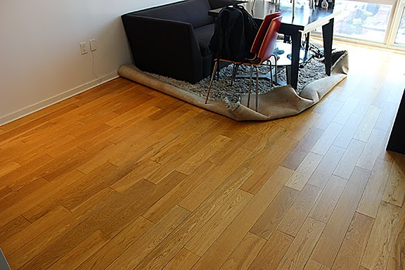 Sandless wood floor refinishing NYC