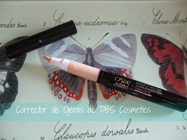 Reseña: Corrector de Ojeras de DBS cosmetics