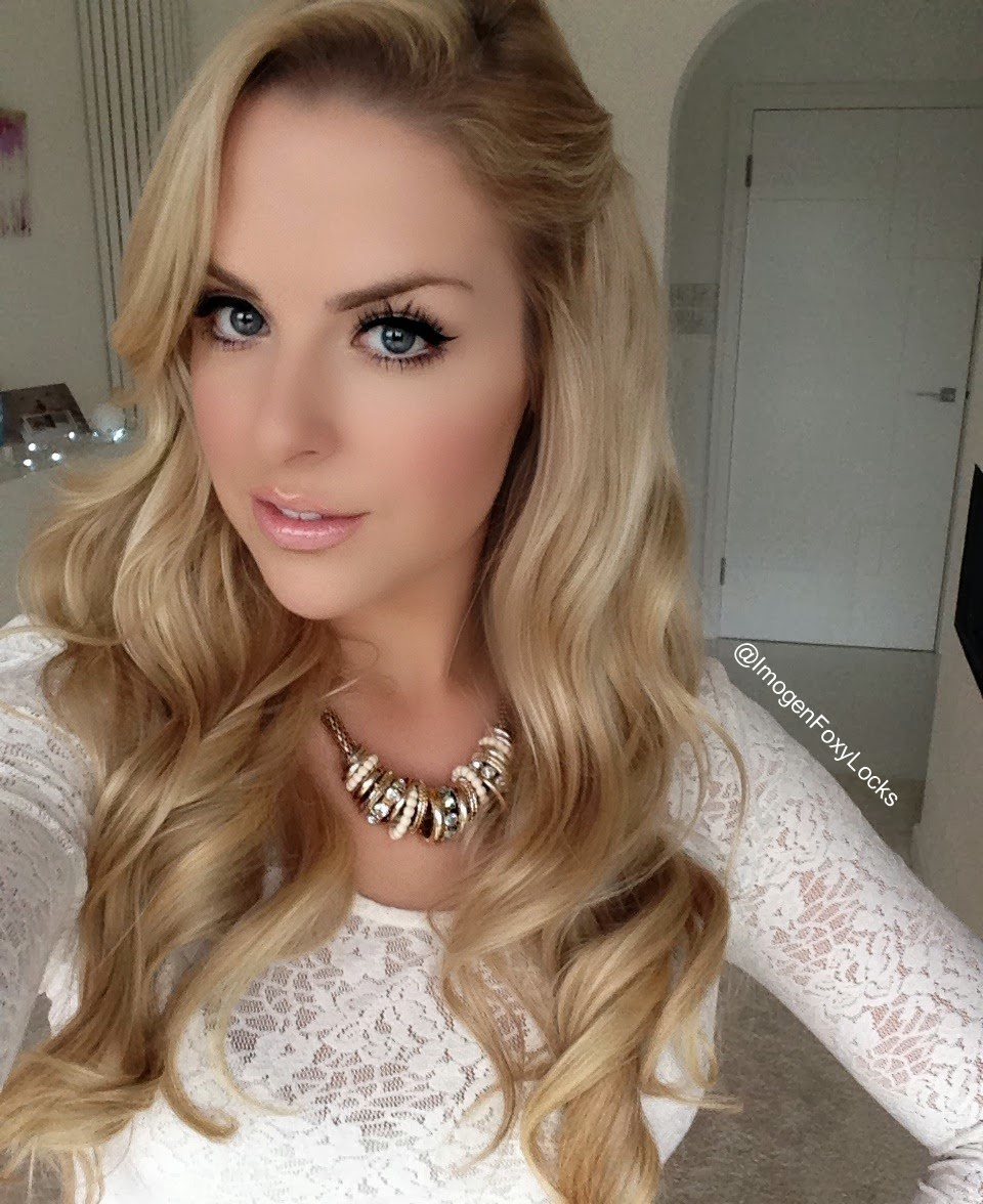 Imogen Foxy Locks Glamorous Party Hair Soft Curls Tutorial