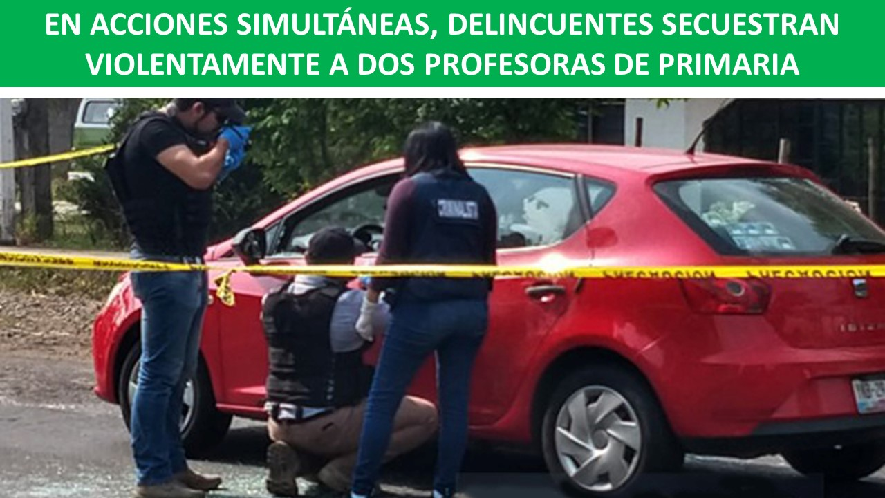 DELINCUENTES SECUESTRAN VIOLENTAMENTE