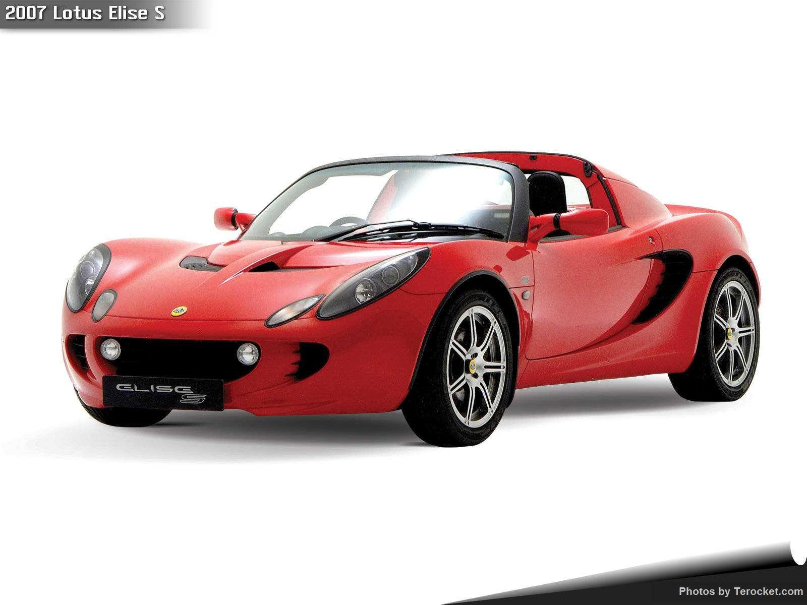 Hình ảnh siêu xe Lotus Elise S 2007 & nội ngoại thất