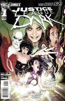 Justice League Dark Issue #1 Cover Artwork