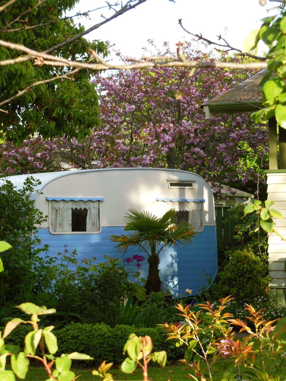 Lucy our vintage caravan