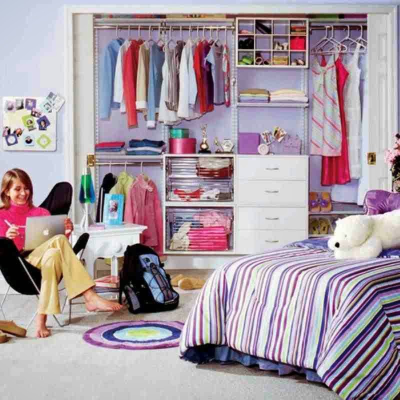 Home Decorating Interior Design Ideas Kid 39 S Closet Organizer