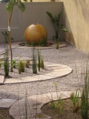 Decoraci n minimalista y contempor nea jardines minimalistas - Jardines pequenos minimalistas ...