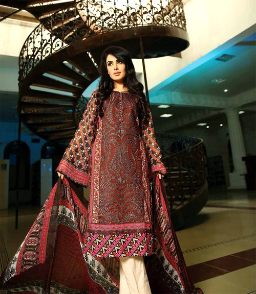 Feminine Spring-Summer Designs By Shariq