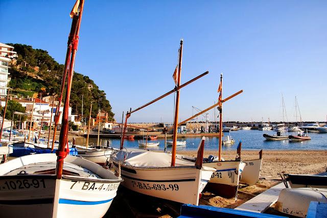 Barques de Llafranc