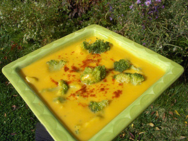 Smokey Sweet Potato Soup