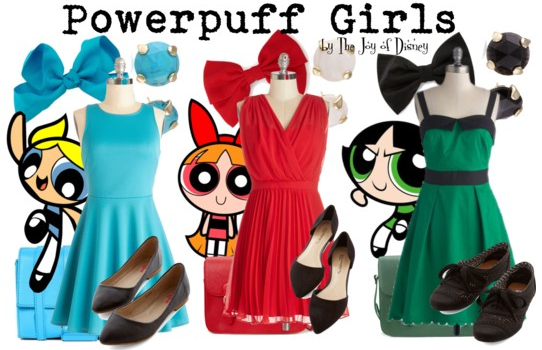 Powerpuff Girls Outfits