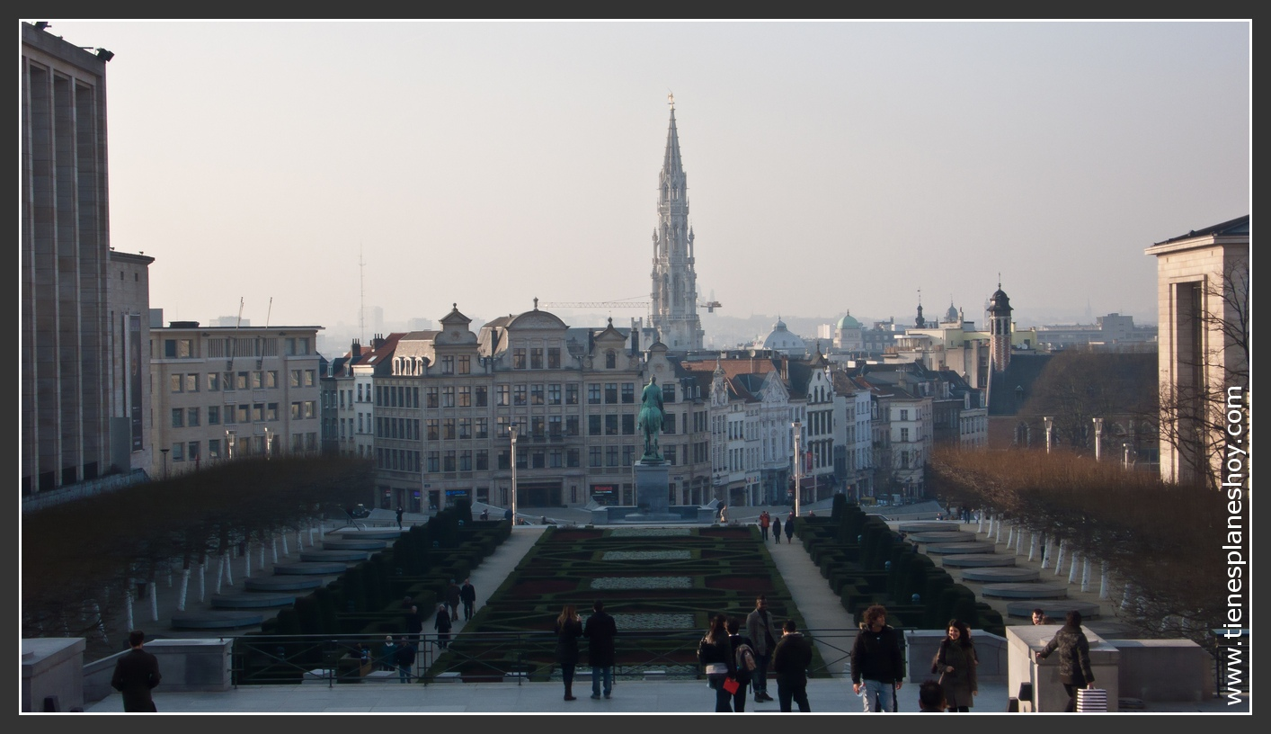 Monte de las Artes Bruselas