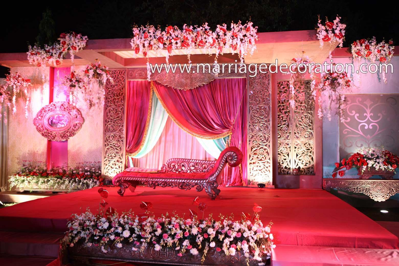 Decoration - Unique Wedding stage Decoration