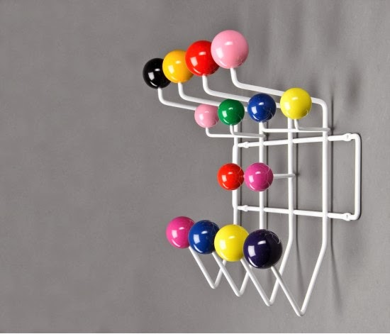 cabideiro Hang it All - Charles Eames e Ray Eames