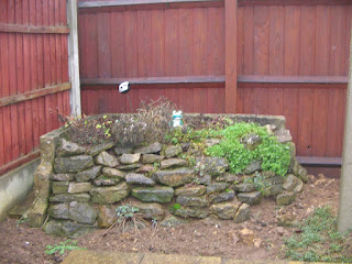 Rockery remodelling from 16/02/2011