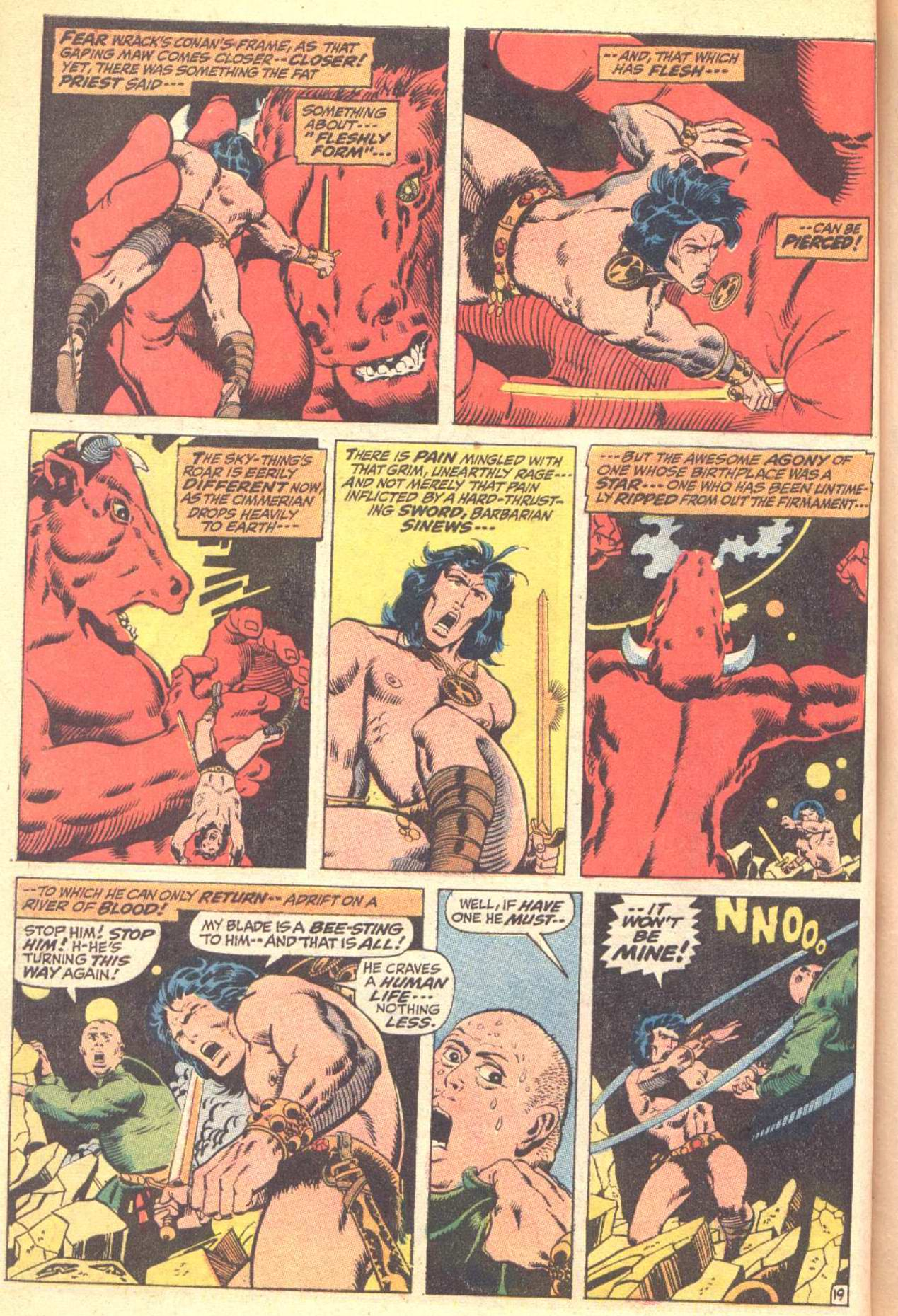Conan the Barbarian (1970) Issue #10 #22 - English 20