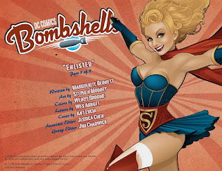 Page 2 of DC Comics Bombshells #5