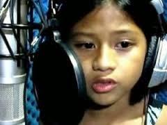 Girl Singing Titanium In Locker Room