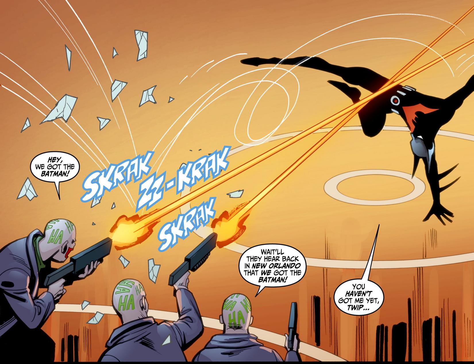 Batman Beyond (2012) Issue #9 #9 - English 8