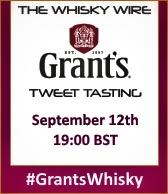 Grant's Whisky Tweet Tasting