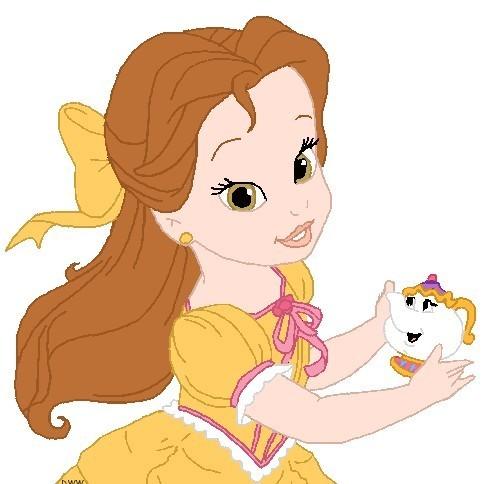 Princesa bella bebé - Imagui