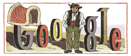 Rafael Bordalo Pinheiro's 167th Birthday