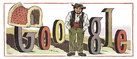 Rafael Bordalo Pinheiro's 167th Birthday