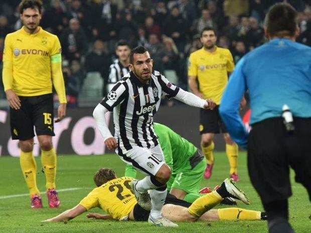 Suarez Jaring Dua Gol, Juventus Atasi Borussia, info, terkini, berita sukan, sensasi, UEFA Champion League, Man City, BArcelona,