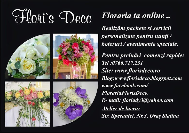 Floraria FLORI'S DECO -SLATINA