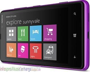Harga Nokia Lumia 820 (Nokia Arrow) Hp Terbaru 2012