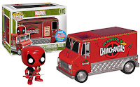 Funko Pop! Deadpool's Red Chimichanga Truck