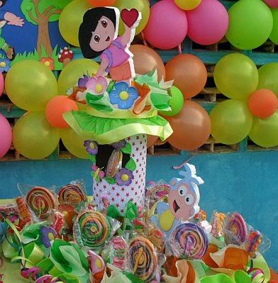 Fiestas infantiles decoraci n dora la - Dora la exploradora cocina ...