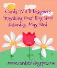 Cardz TV 3-D Designers Blog Hop