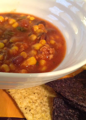 Healthier Chicken Chili