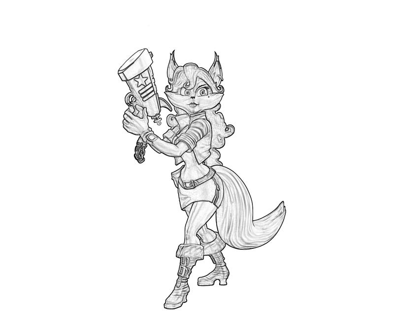 Sly Cooper Thieves in Time Carmelita