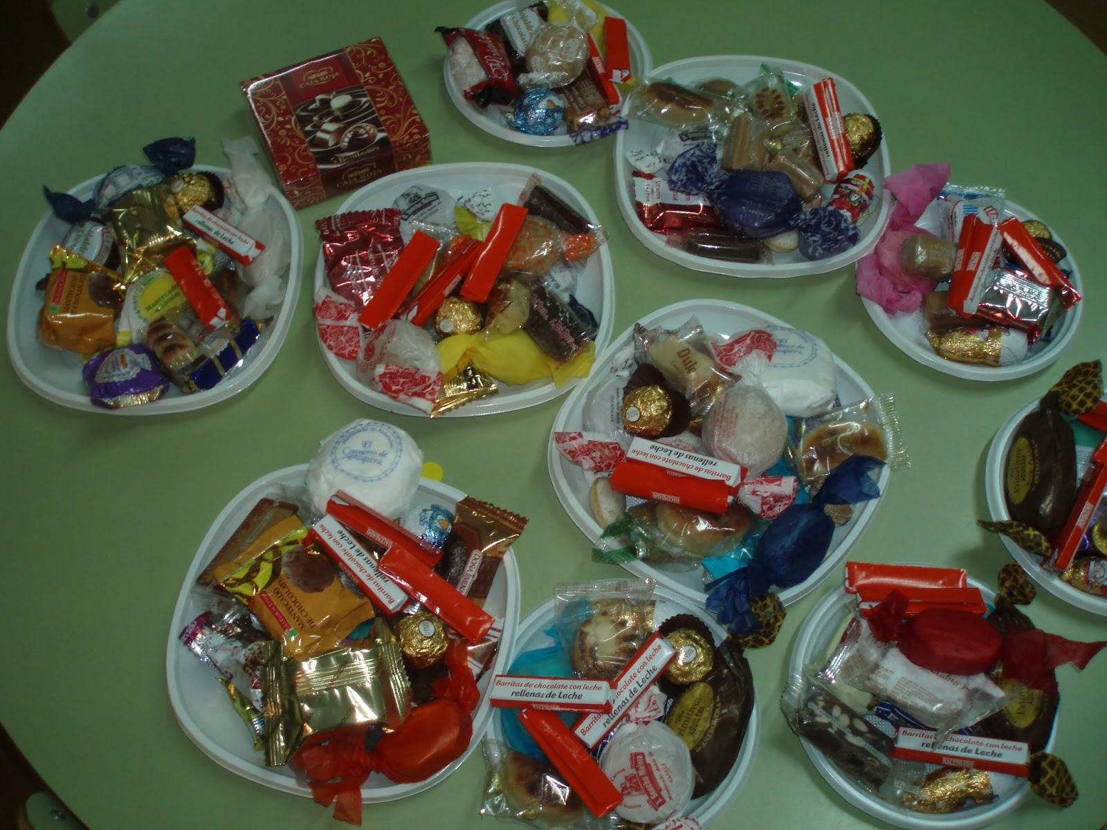 Arias montano infantil fiesta con dulces navide os for Platos dulces