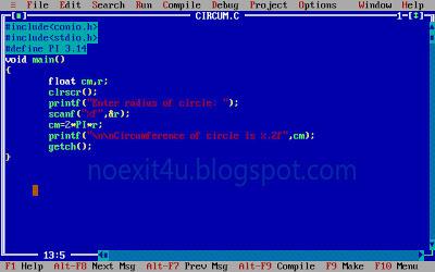 coding c program