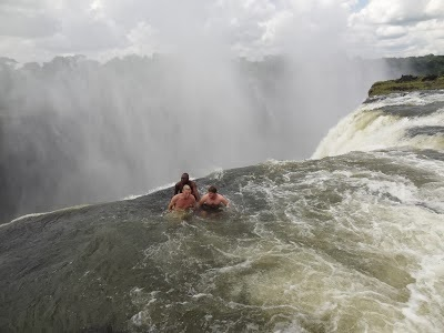 Devil's Pool in Victoria Falls
