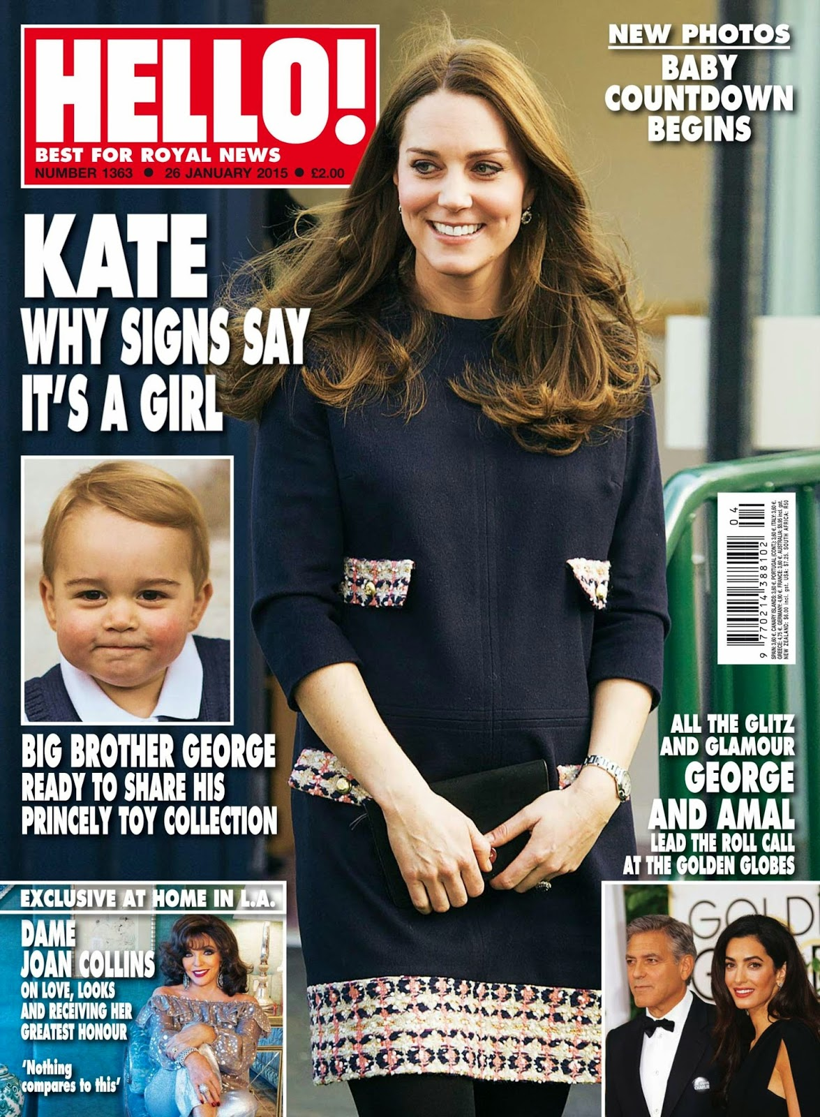 Princess , Duchess of Cambridge: Kate Middleton for Hello, UK