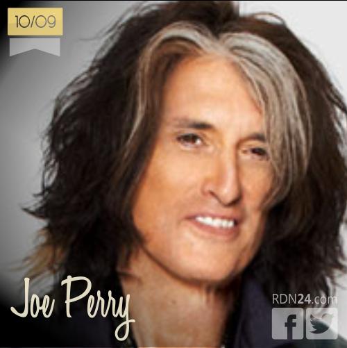 10 de septiembre | Joe Perry - @JoePerry | Info + vídeos