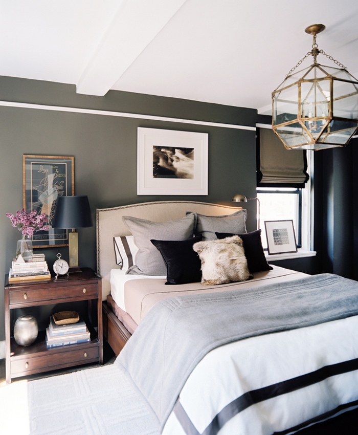 Masculine Bedrooms   Song of Style