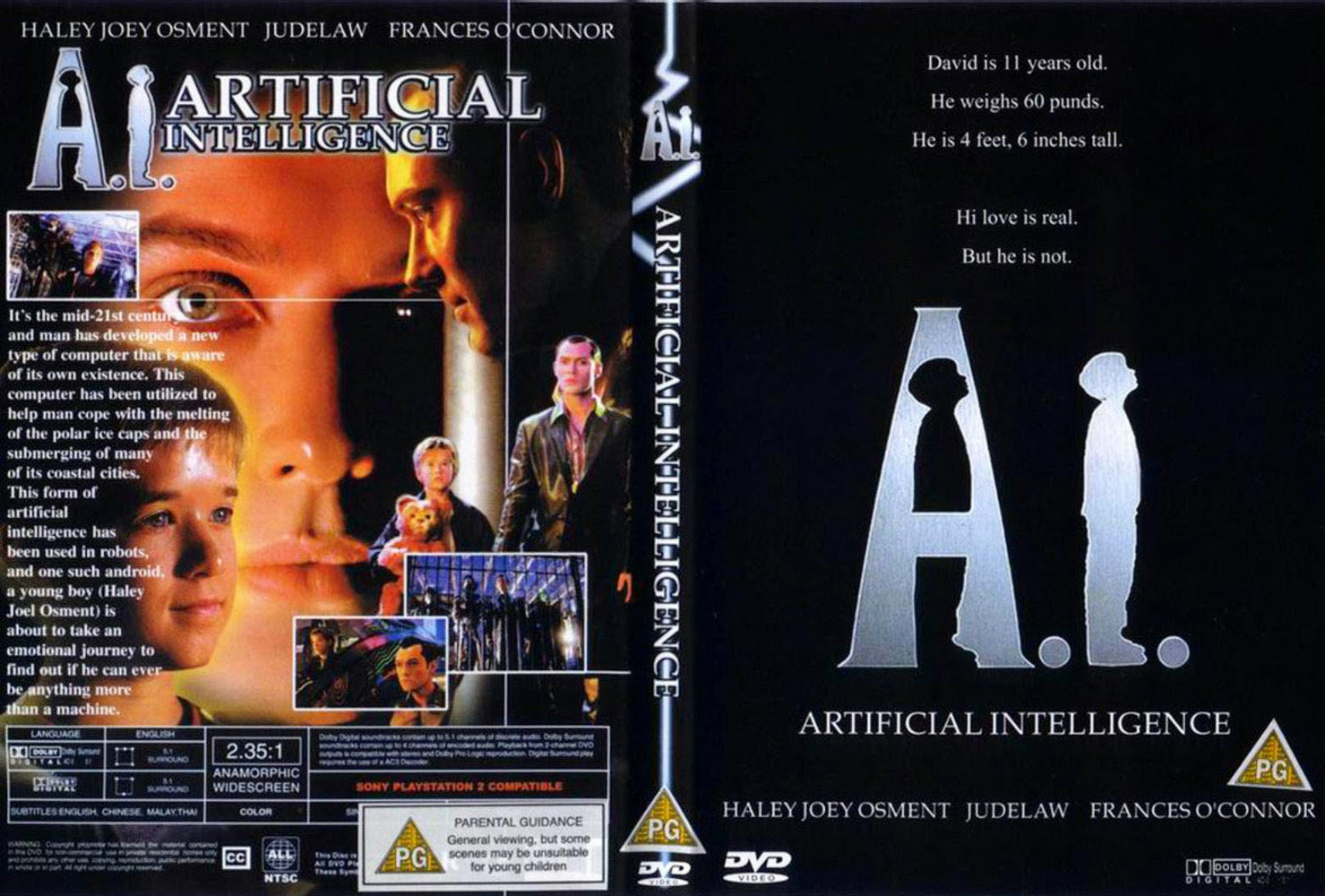 Movie review: Artificial Intelligence (2001)
