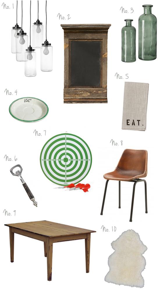 The Design Boards British Pub Style
