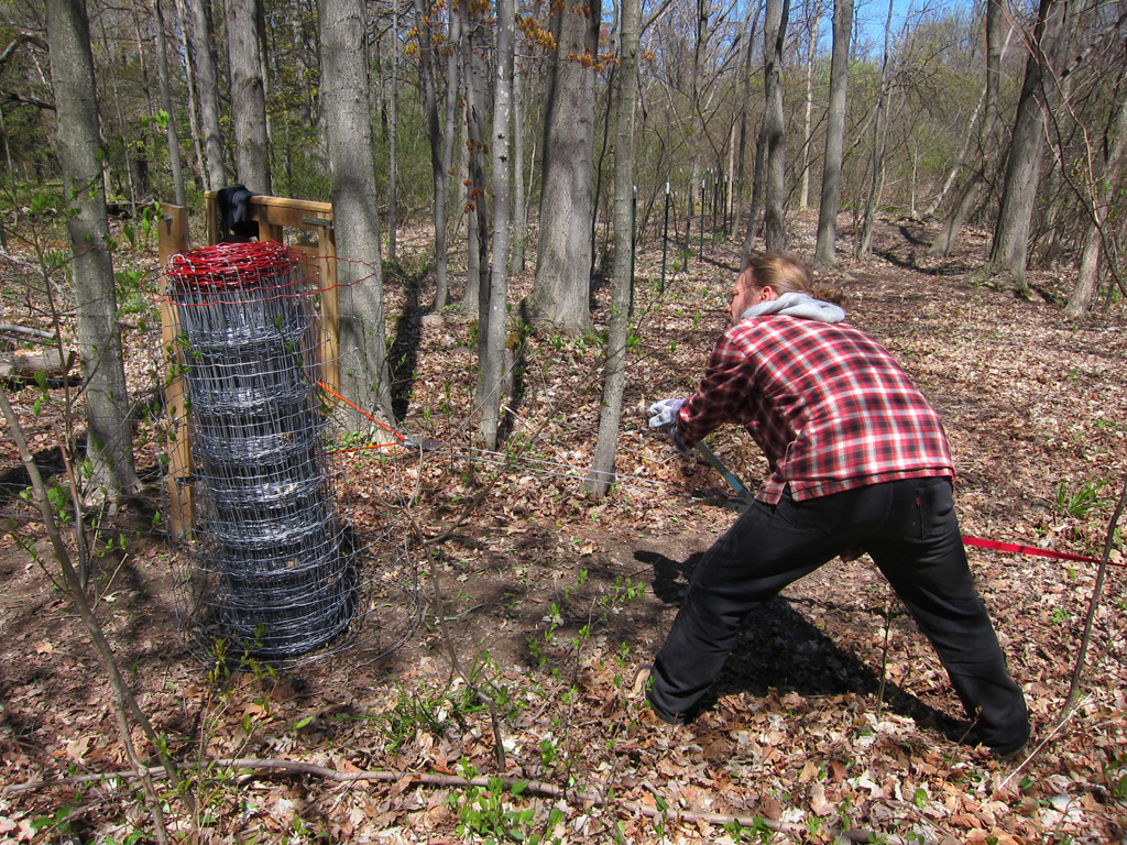 suustainable: Stretching the wood pasture fence