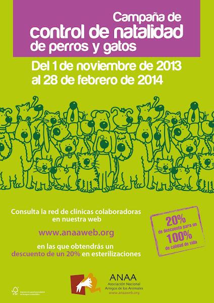 Campa�a de Control de Natalidad 2013-2014